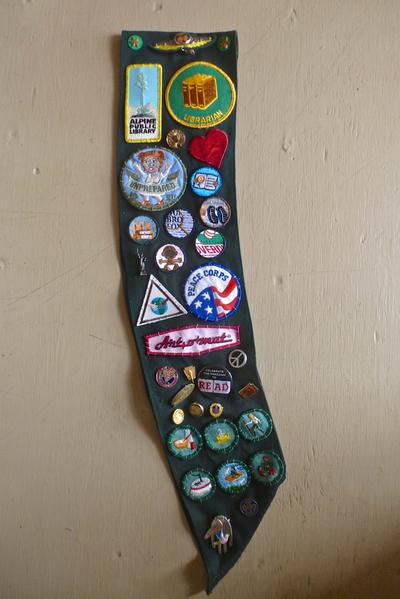 """Girl Scout"" sash"