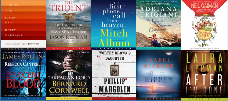Free Audiobooks from HarperAudio