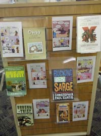 Book Club Display 1