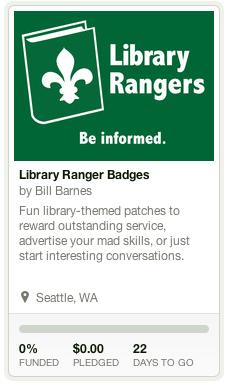 Library Ranger Badges