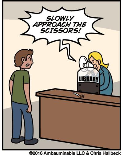 Librarycomicpanel