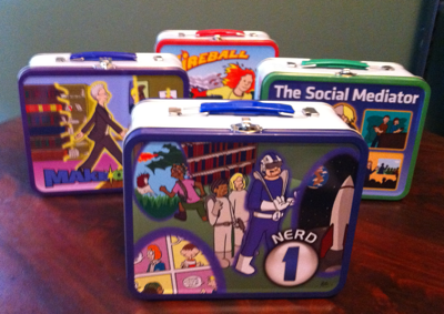 Superhero lunchboxes