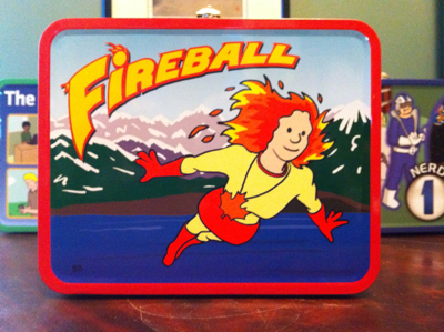 Fireball lunchbox