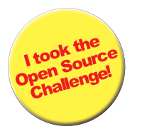 Open Source Challenge Button