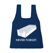 Never Forget shopping bag