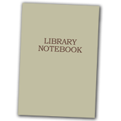 Library Notebook Books
