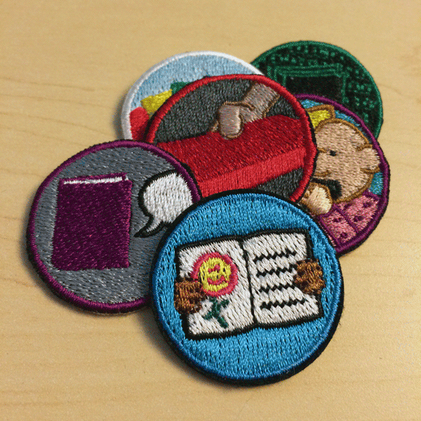 Library Rangers badges