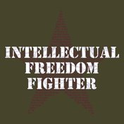 Intellectual Freedom Fighter Shirts