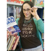 Will Work For Books Shirts
