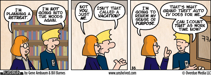 Unshelved comic strip for 10/2/2012