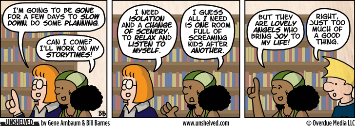 Unshelved comic strip for 10/3/2012