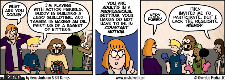 Unshelved comic strip for 10/17/2012
