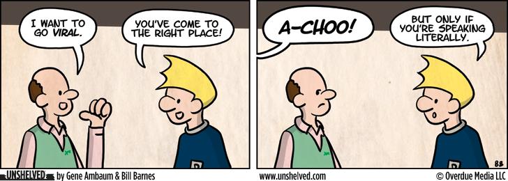 Unshelved comic strip for 10/23/2012
