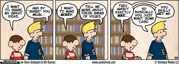 Unshelved comic strip for 10/25/2012