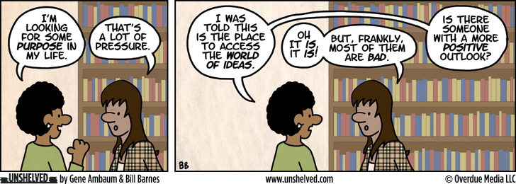 Unshelved comic strip for 10/31/2012