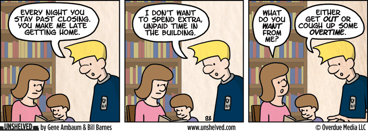 Unshelved comic strip for 11/6/2012