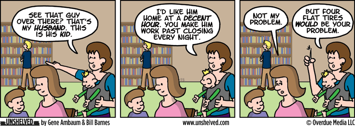 Unshelved comic strip for 11/7/2012