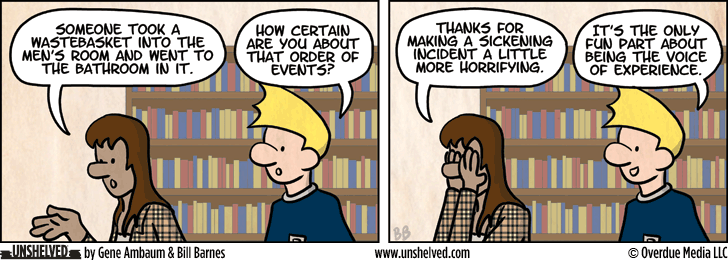 Unshelved strip for 12/17/2012