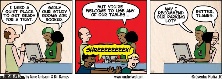 Unshelved comic strip for 12/18/2012