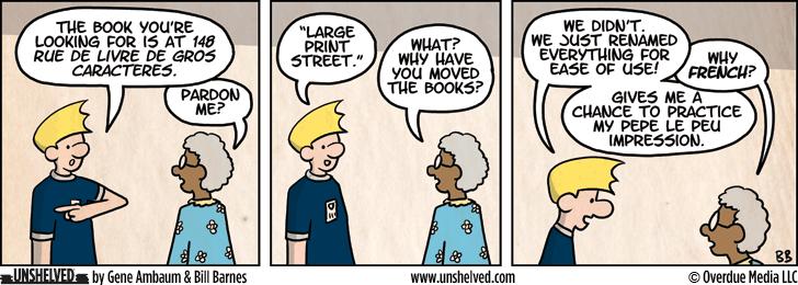 Unshelved comic strip for 1/1/2013
