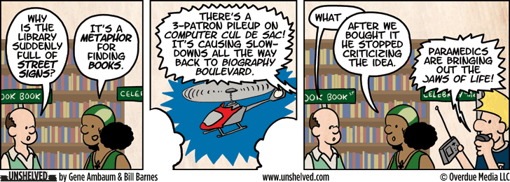 Unshelved comic strip for 1/2/2013