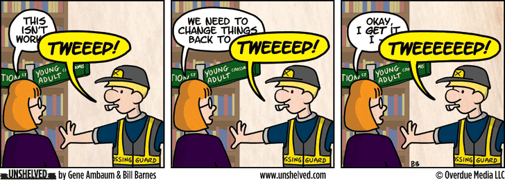 Unshelved comic strip for 1/3/2013
