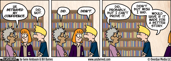Unshelved comic strip for 1/10/2013