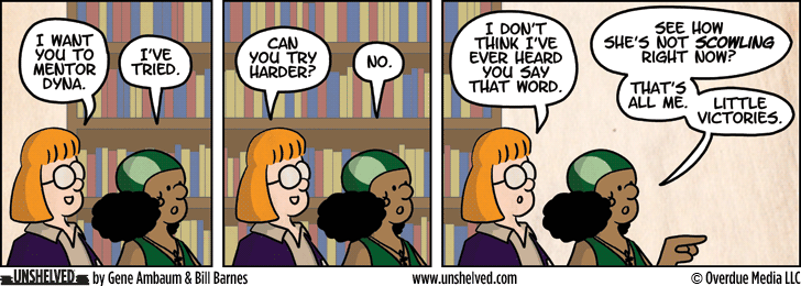 Unshelved comic strip for 1/17/2013