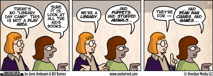 Unshelved comic strip for 1/29/2013