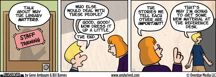 Unshelved comic strip for 2/7/2013