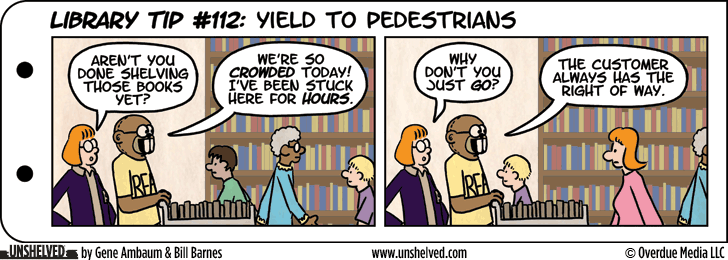 Unshelved strip for 2/12/2013