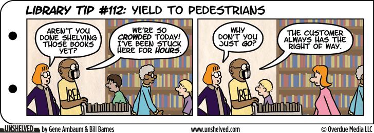 Unshelved comic strip for 2/12/2013