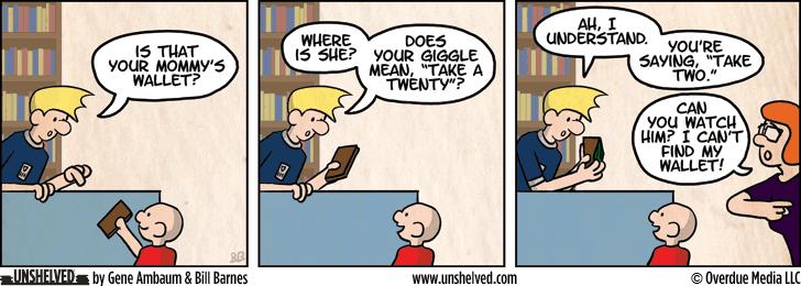 Unshelved comic strip for 2/21/2013