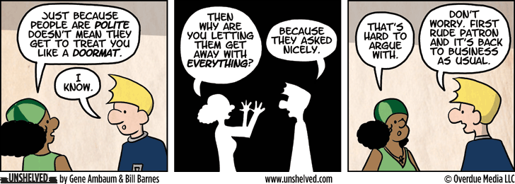Unshelved strip for 2/28/2013