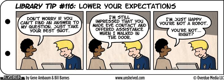 Unshelved comic strip for 3/5/2013