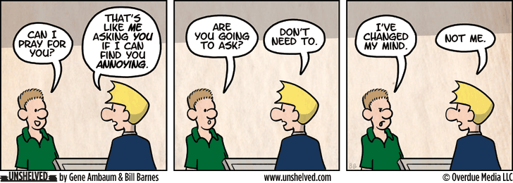 Unshelved strip for 3/6/2013