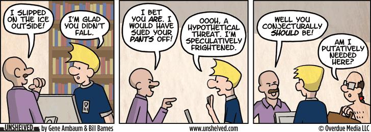 Unshelved comic strip for 3/7/2013