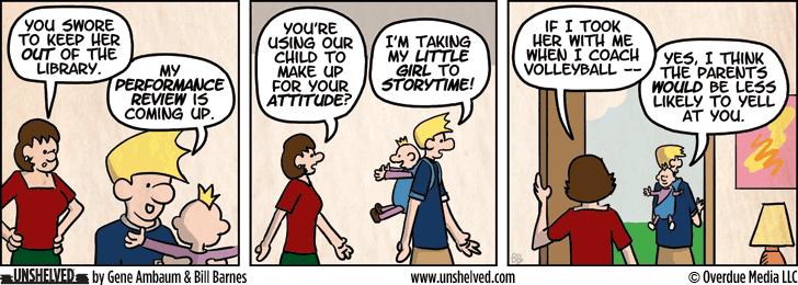 Unshelved comic strip for 3/12/2013