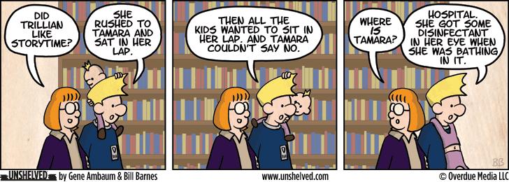 Unshelved comic strip for 3/14/2013