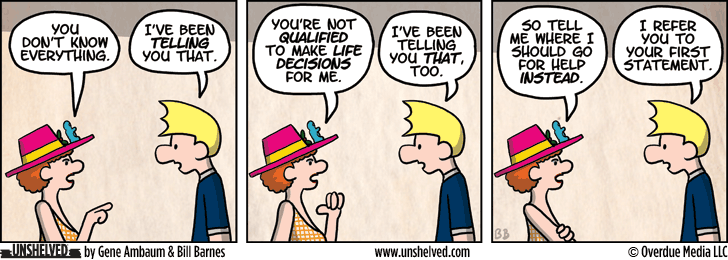 Unshelved comic strip for 3/21/2013