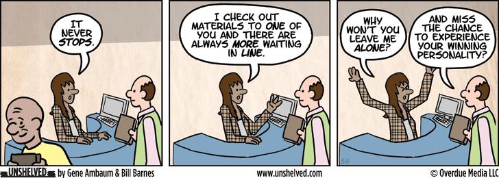 Unshelved comic strip for 4/2/2013