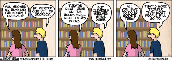 Unshelved comic strip for 4/9/2013
