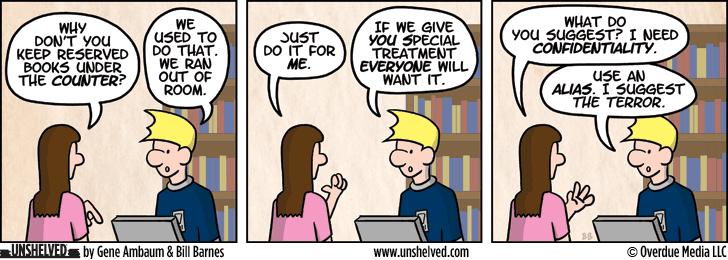 Unshelved comic strip for 4/10/2013