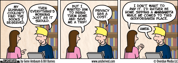 Unshelved comic strip for 4/11/2013