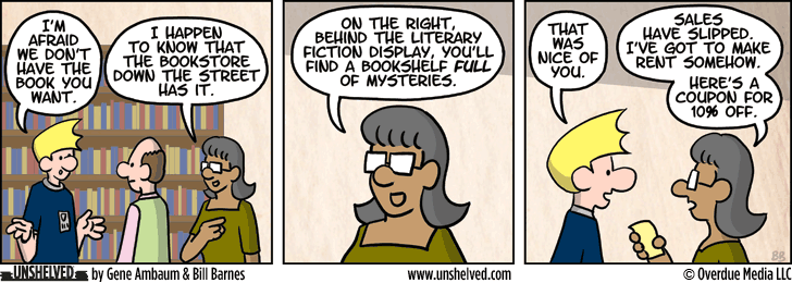 Unshelved comic strip for 4/16/2013