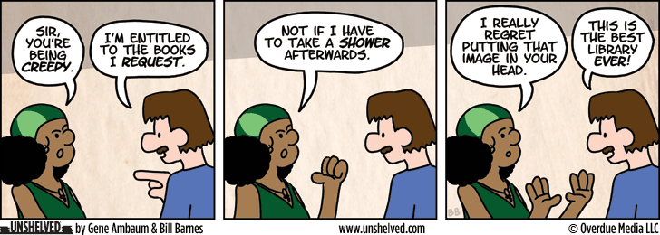 Unshelved comic strip for 4/24/2013