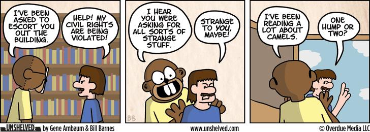 Unshelved comic strip for 4/25/2013