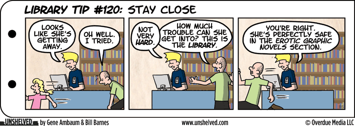 Unshelved comic strip for 4/29/2013