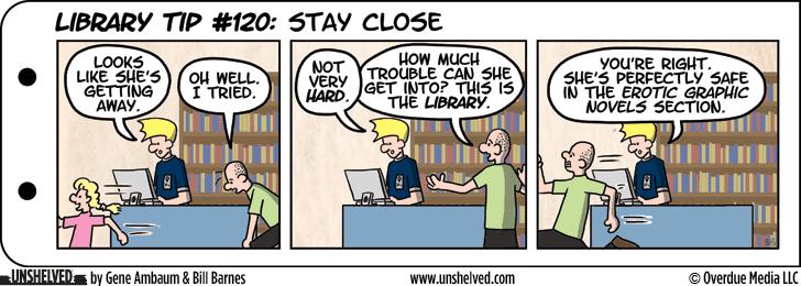 Comic strip library