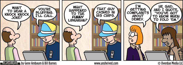 Unshelved comic strip for 5/9/2013